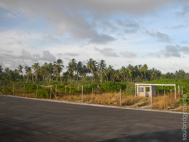 (not) Christmas Island runway